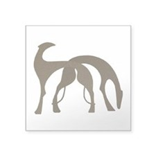 "Hounds Decal 3"" x 3"" Mocha"