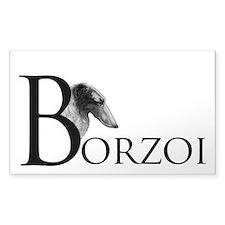 Borzoi Logo Decal