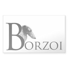 Borzoi Logo Decal