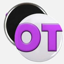 "OT - Purple 2.25"" Magnet (100 pack)"