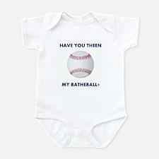 Have you theen my batheball? Infant Bodysuit