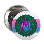 "Bi Wreath 2.25"" Button (10 pack)"