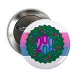"Bi Wreath 2.25"" Button"