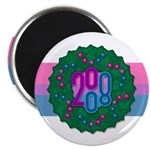 Bi Wreath Magnet