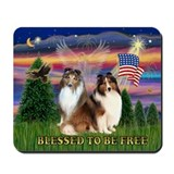 American flag mouse pad Classic Mousepad