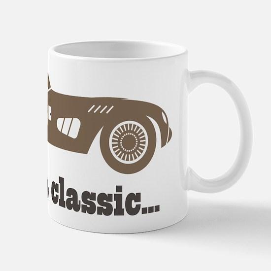 64th Birthday Classic Car Mug