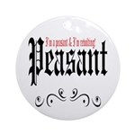 Peasant Wear Ornament (Round)