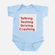Talking Texting Driving Crashing Body Suit