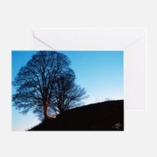 Sunset on Oxford Greeting Card