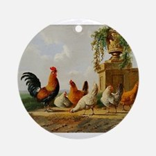 Birds of a Feather Ornament (Round)