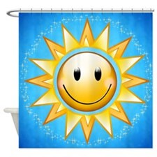 Sunshine with sparkles Shower Curtain
