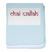 Chai Wallah baby blanket