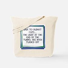 BUDGET CUTS Tote Bag