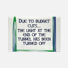 BUDGET CUTS Rectangle Magnet (10 pack)