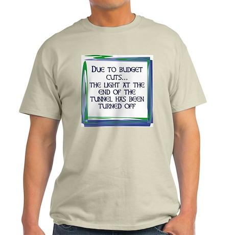 BUDGET CUTS Ash Grey T-Shirt