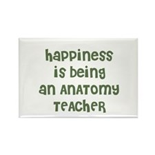 Happiness is being an ANATOMY Rectangle Magnet