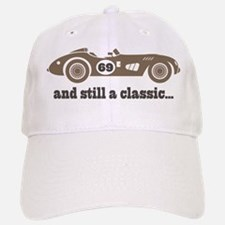 69th Birthday Classic Car Baseball Baseball Cap
