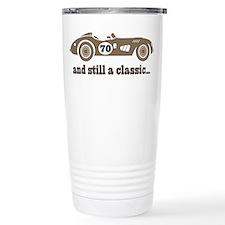 70th Birthday Classic Car Travel Mug