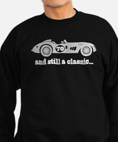 70th Birthday Classic Car Sweatshirt (dark)