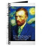 Van Gogh Paint My Dream Journal