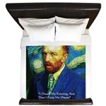 Van Gogh Paint My Dream King Duvet