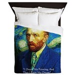 Van Gogh Paint My Dream Queen Duvet