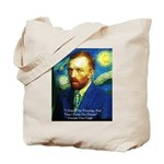 Van Gogh Paint My Dream Tote Bag