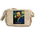 Van Gogh Paint My Dream Messenger Bag