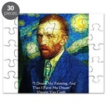 Van Gogh Paint My Dream Puzzle