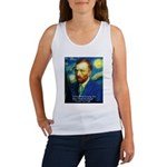 Van Gogh Paint My Dream Tank Top