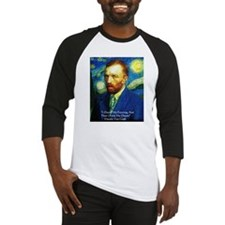 Van Gogh Paint My Dream Baseball Jersey