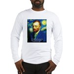 Van Gogh Paint My Dream Long Sleeve T-Shirt