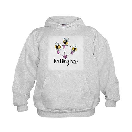 Knitting Bee Kids Hoodie