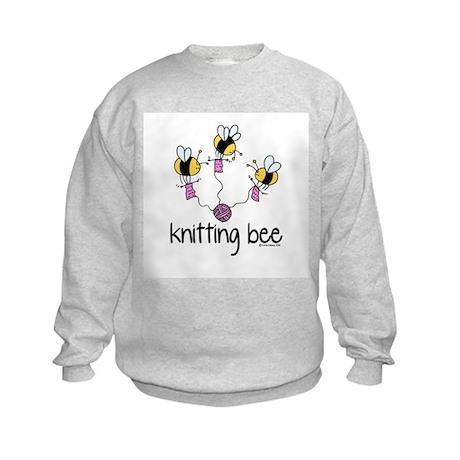 Knitting Bee Kids Sweatshirt