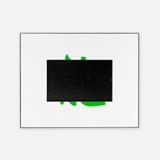 Dragon Kanji Green Picture Frame