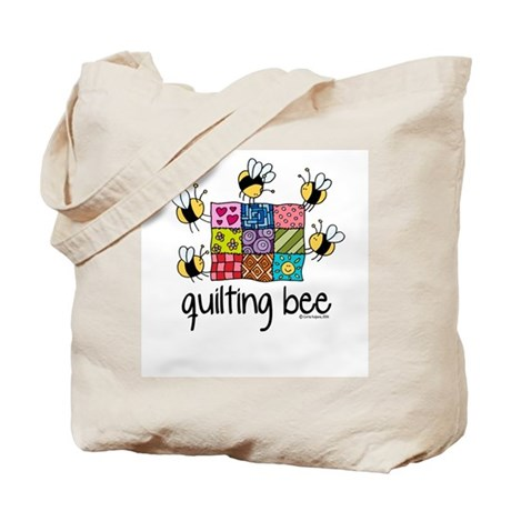 Quilting Bee Tote Bag