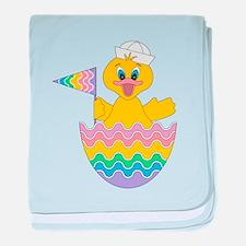 Rainbow Duckling baby blanket