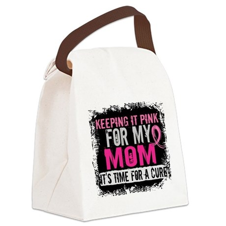 Keeping It Pink For My Canvas Lunch Bag