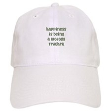 Happiness is being a BIOLOGY Baseball Cap