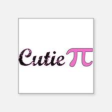 Cutie Pi Rectangle Sticker
