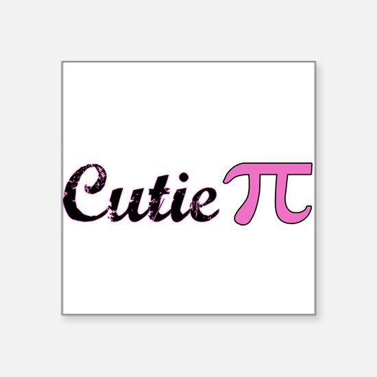 Cutie Pi Rectangle Sticker