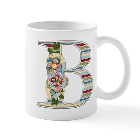 Monogram Letter B Mug