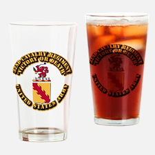 COA - 33rd Cavalry Regiment Drinking Glass