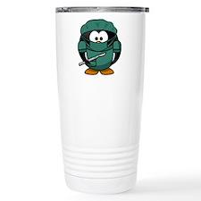Surgeon Penguin Travel Mug