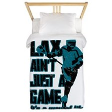 Lax Aint Just A Game Twin Duvet