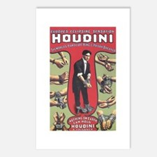 houdini design Postcards (Package of 8)