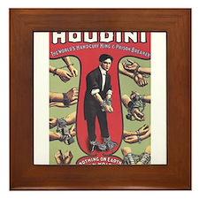 houdini design Framed Tile