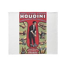 houdini design Throw Blanket
