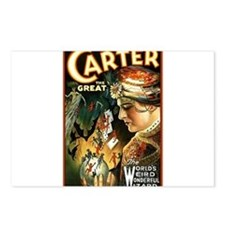 Carter the great Postcards (Package of 8)