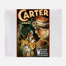 Carter the great Throw Blanket